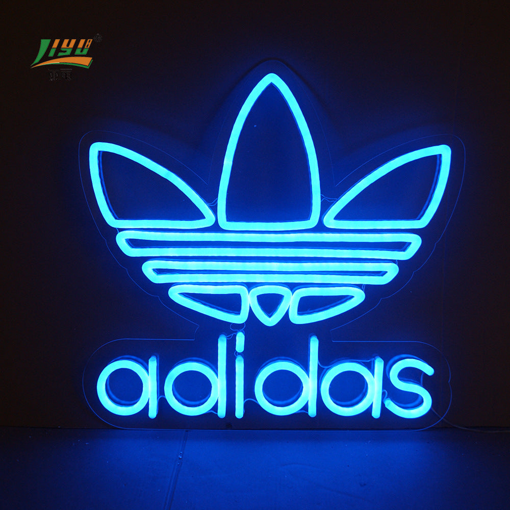 Clothing store decoration LED neon logo Custom neon billboard acrylic word Flexible neon