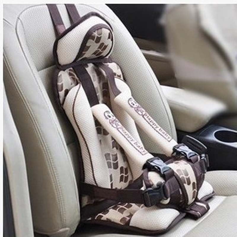 Portable child safety seat cushion Car child safety seat cushion 9 months to 5 years old 4 colors optional