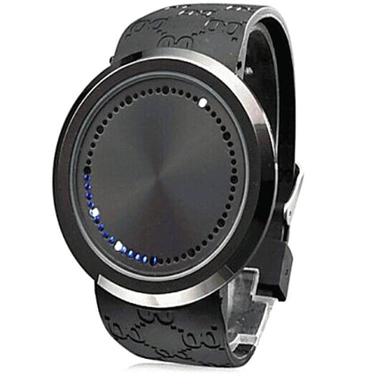 Factory wholesale explosion models 60 lamp touch watch female men's LED watch mixed batch