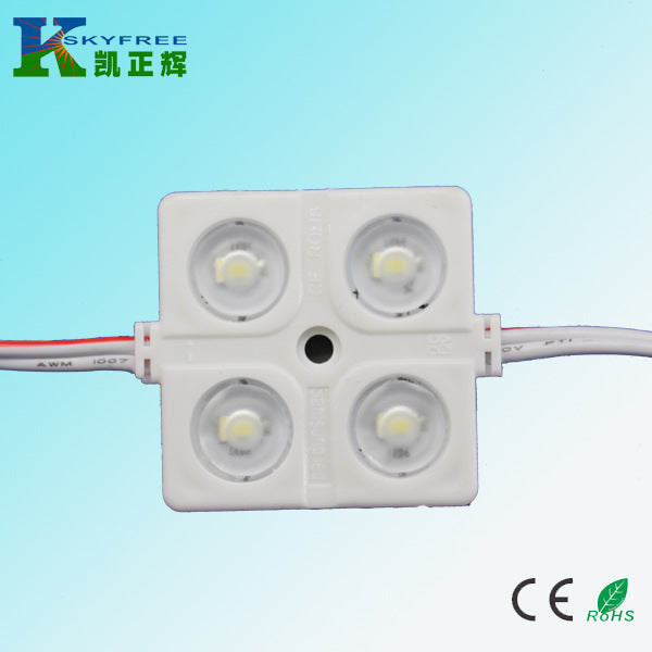 Supply LED identification lamp Injection lens module Samsung 5630 injection molding module