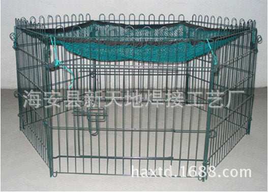 Silver paint wire rabbit bunny animal safety breeding cage Various specifications pet cage rabbit cage