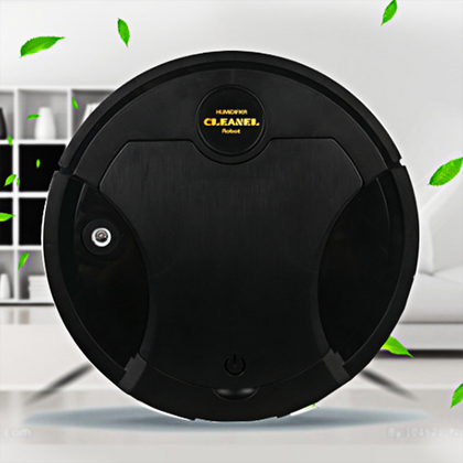Intelligent Sweeping Robot With Air Humidification And Purification Black