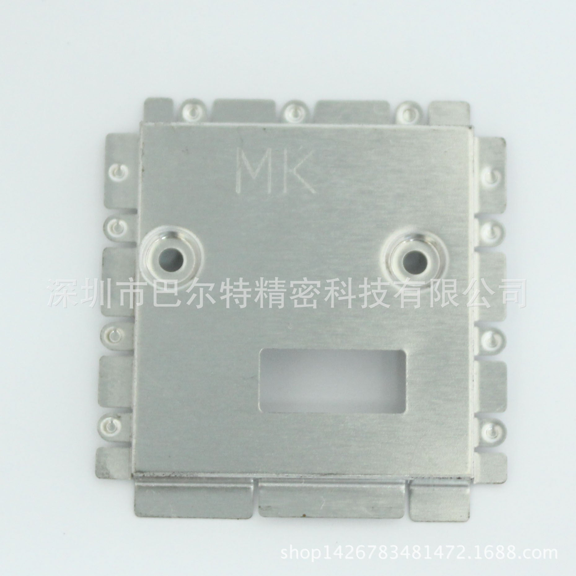 Shenzhen precision stamping factory shield cover shield white copper shield mask tinplate shield cover etching shield