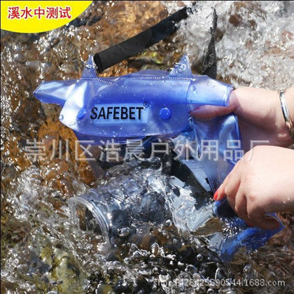 Export foreign trade SLR camera waterproof bag 8cm height lens splashing water appliances