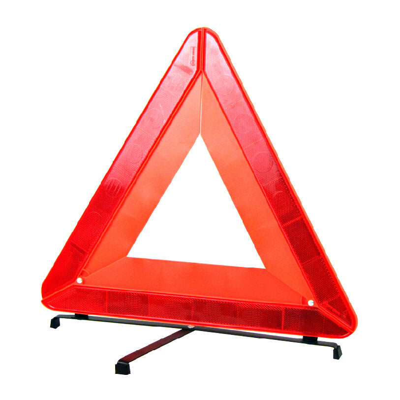 National standard red box Car big triangle reflective warning sign Road fault warning frame R27 emergency tool