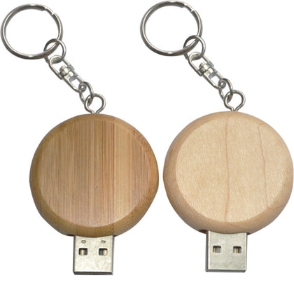Round wooden USB flash drive, fashion, environmental protection, shrinkable, creative gift, USB flash drive, custom printing, custom logo