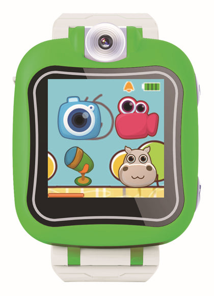Children's smart watch photo time video puzzle multi-function children smart wear 90 degree rotating lens