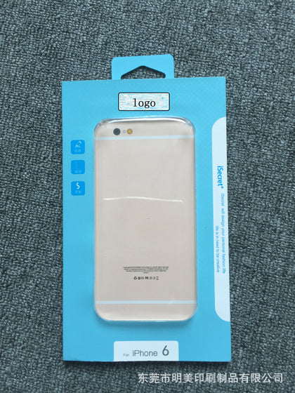 BSCI certified printing manufacturers supply hot mobile phone shell color box millet Huawei apple protective case packaging box