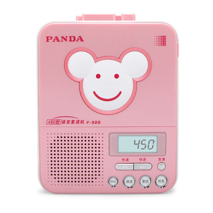 PANDA/Panda F-322 Repeater English Tape Recorder Learning Machine Student Learning Machine Tape Drive