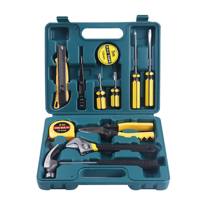 12-piece car repair tool box 1400g combination set auto supplies spare tools wholesale