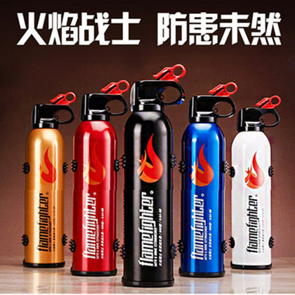 Car home dual-use portable 520 g dry powder fire extinguisher Car big flame fire fighter 3C fire certification