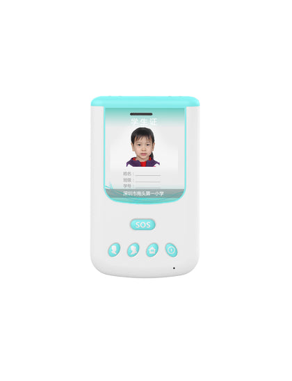 GPS student smart card School information management platform intelligent wear, second generation smart student card