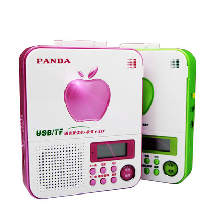 PANDA/Panda F-327 Repeater Genuine Tape Recorder English Learning U disk MP3 Card FM Radio