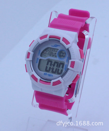 1671 Multifunctional Colorful Sports Watch Promotional Electronic Gift Digital Display Children Watch Factory Direct Sale