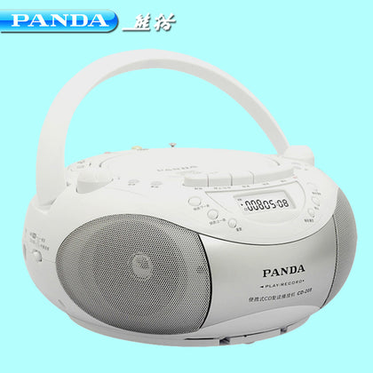 Cd player machine panda CD-208 repeater English recording tape prenatal education USB CD genuine wholesale