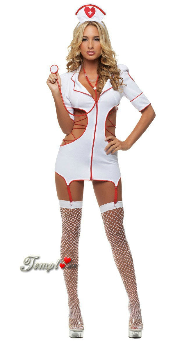 Foreign trade Europe and America big size sexy underwear nurse uniform temptation suit game cosplay role-playing costume