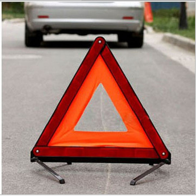 Car tripod warning sign dangerous fault stop sign car fire extinguisher reflective tripod annual inspection