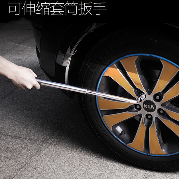 Wholesale labor-saving socket wrenches Demolition tires Car repair tools Retractable tire wrenches