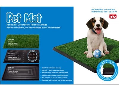 Pet mat dog lawn dog toilet three-layer pet toilet tv pet cleaning supplies