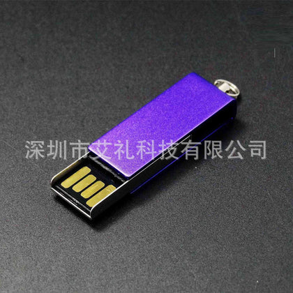 Ultra-thin mini dual interface USB flash drive, metal mobile phone flash drive, smart Android flash drive