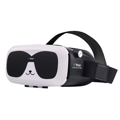 New HD does not stun panda head VR virtual reality glasses mobile game movie