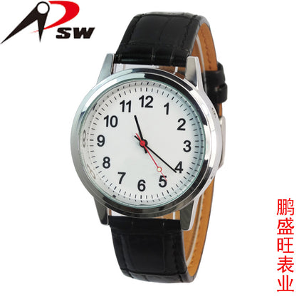 Shenzhen OEM supply German frequency radio wave watch ODM processing alloy environmental protection material waterproof single frequency radio wave watch