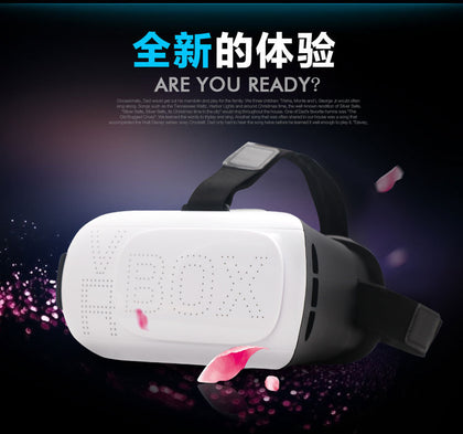 Factory direct vr virtual reality glasses headset VRBOX3d glasses smart digital mini stereo mirror