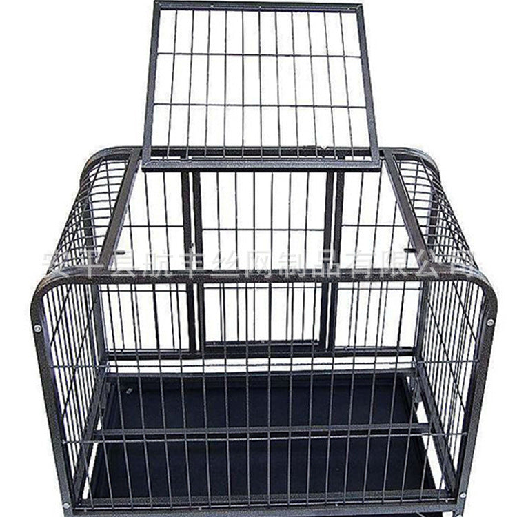 Factory direct pet iron cage High quality spray pet cage Multi-pet cage High-quality wire cage Cage