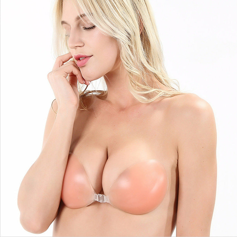 Silicone Bra Invisible Chest Sticker Photo Studio Thickened Gathered Lingerie Wholesale