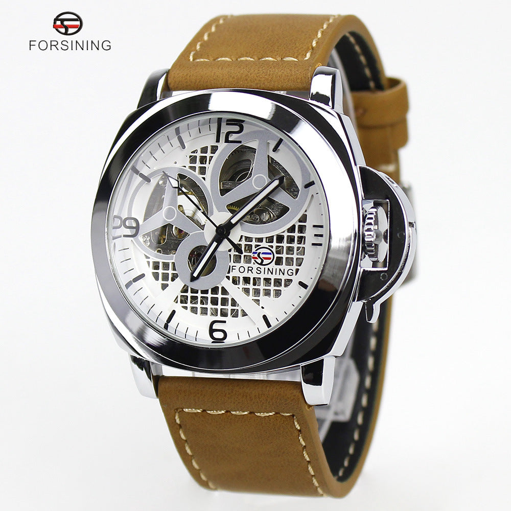 A generation of factory direct sales FORSINING men's watch men's watch high-end hollow automatic mechanical watch