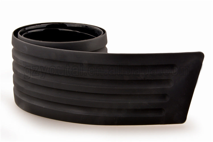 Foreign trade hot sale car modified trunk scratch-resistant rubber strip rear bumper rubber guard plate protection strip universal anti-scratch strip