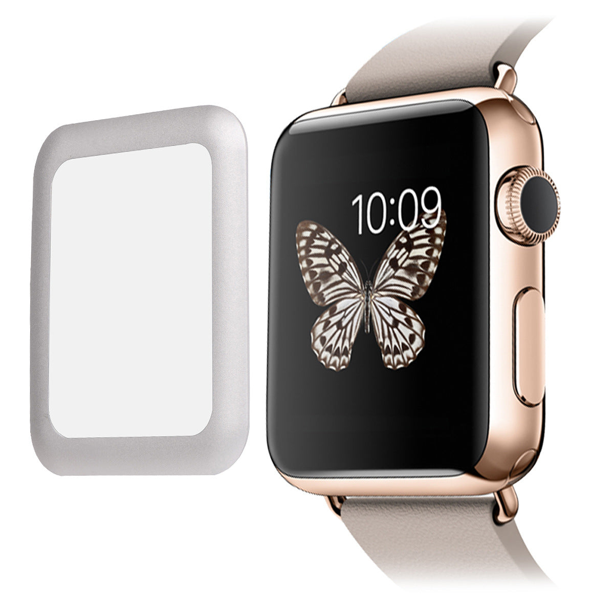 Apple Watch Tempered Film Apple Watch 2 Generation Suitable for Metal Frame Film Apple Watch Film