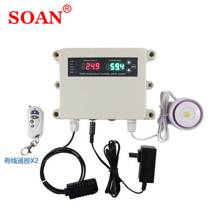 SOAN Suoan real-time query temperature and humidity machine room temperature alarm temperature and humidity stop power alarm