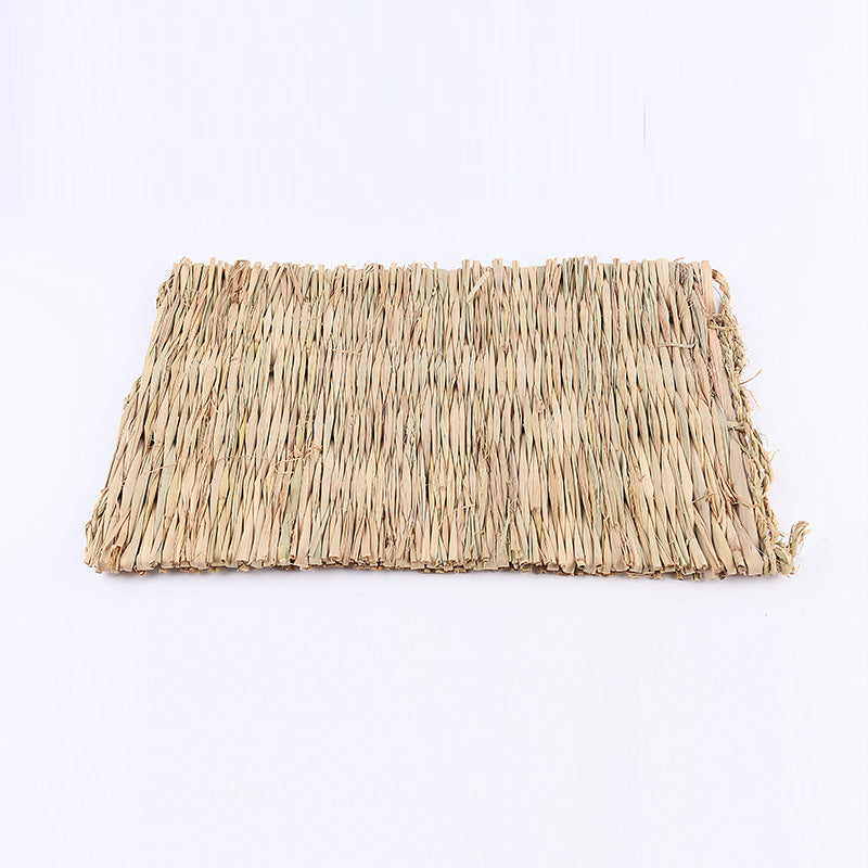 Xingxing Wentian Mole guinea pig Dutch pig grass nest Warm grass mat Large processing custom-made item number 0039