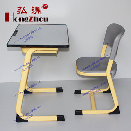 School students learning tables and chairs single hosting counselling training class tuition classroom tables and chairs factory direct wholesale