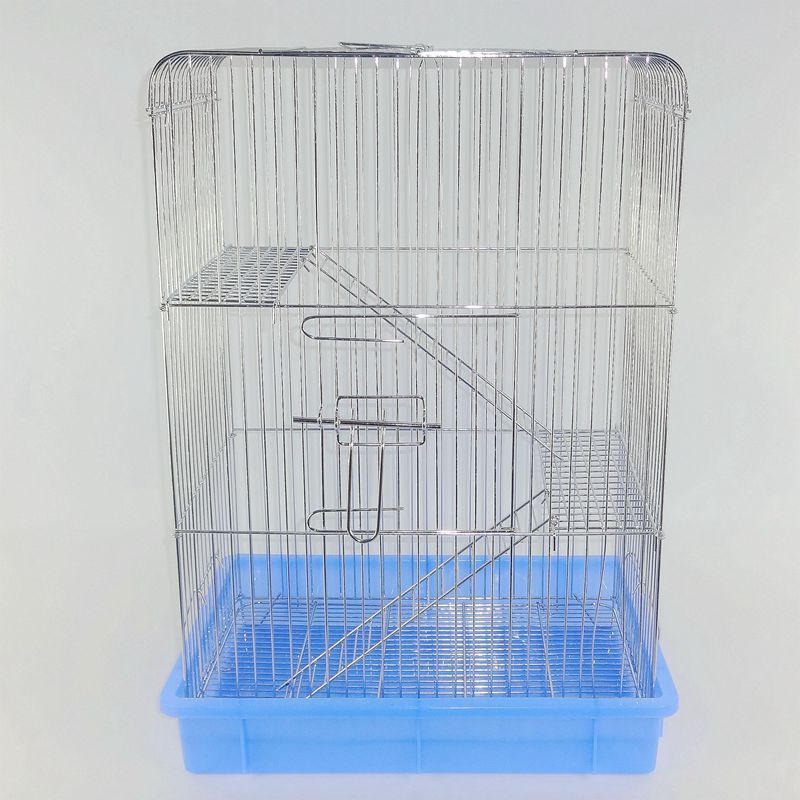 Chinchilla cage chinchillas standard cage devil squirrel special cage three-layer electroplating standard cage stainless steel small squirrel cage
