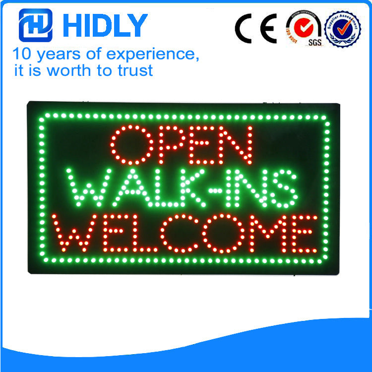 Supply led drivethru advertising signs, electronic flashing billboards, signboard production (HSD0041)