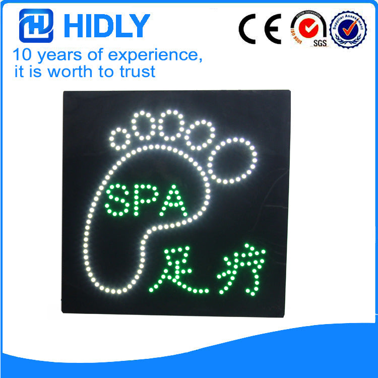 Supply Hyderley high brightness and low price LED electronic signboard, cold beer signboard (HSC0067)