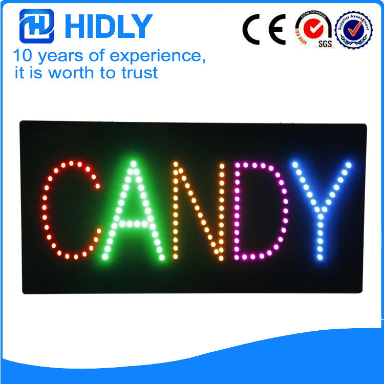 LED billboard, LED electronic light box, sign board, signboard HSI0002