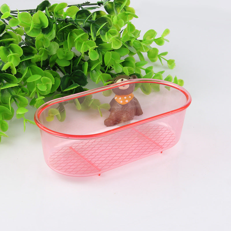 Supply multi-function plastic bird bath multi-function portable bird supplies quality assurance