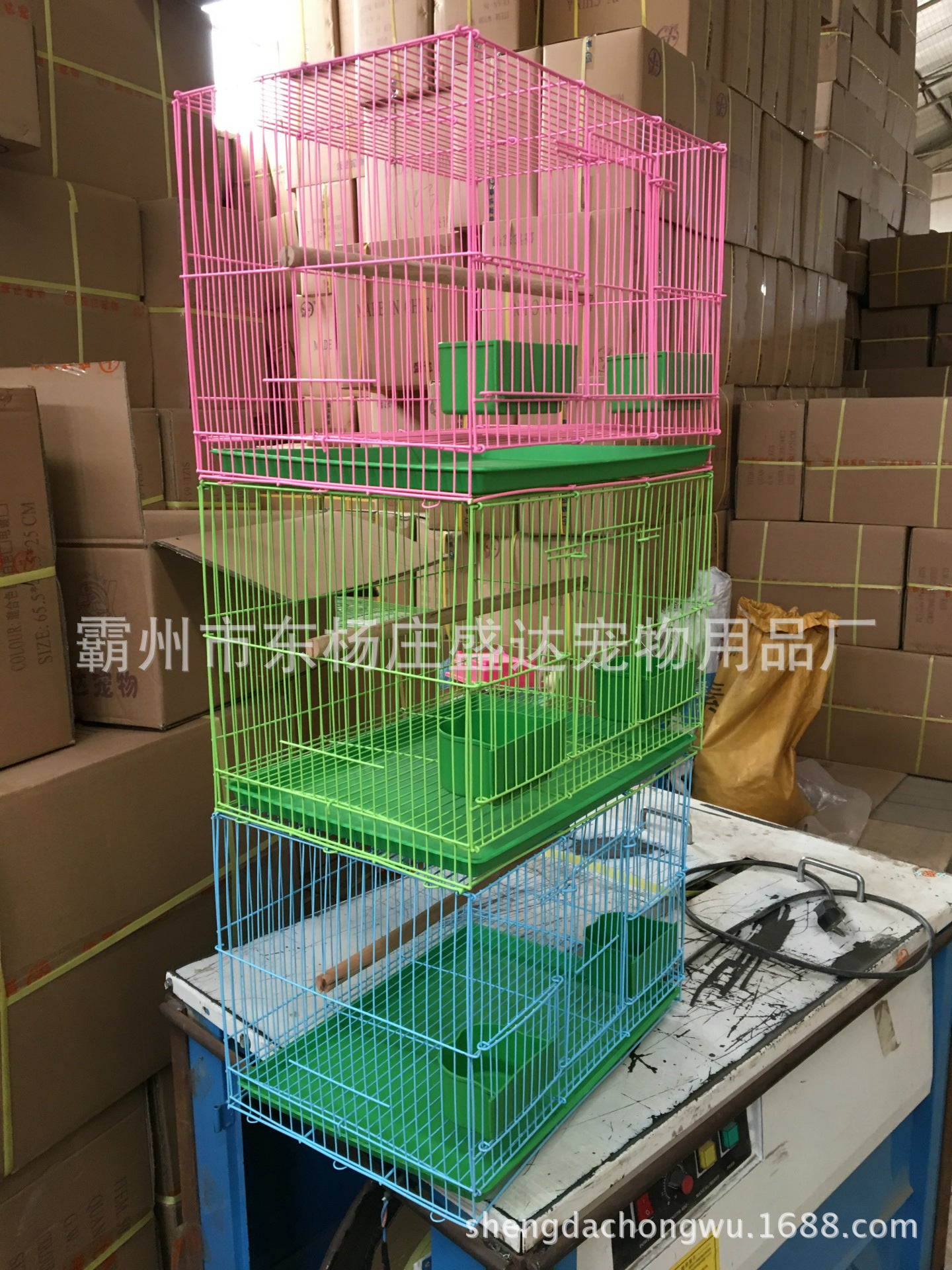 Shengda Pet Small group cage
