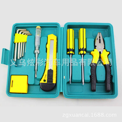 12-piece combination tool car gift small 12-piece set household tools insurance company gift 8012A