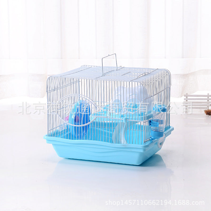 Cat head large medium and small cat head Hamster cage Super large gold bear cage foundation cage small base cat head cage