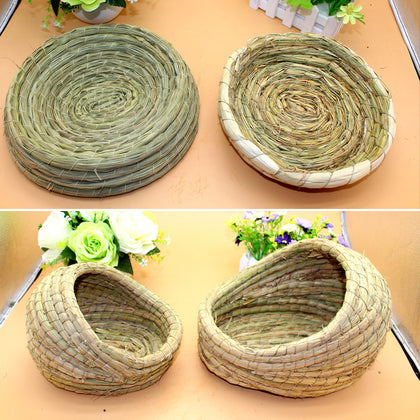 Rabbit nest grass nest Dutch pig guinea pig guinea pig nest pet supplies summer nest pad sleeping rabbit nest wholesale