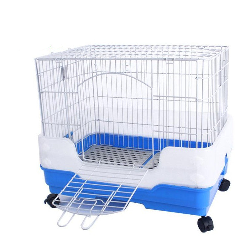 Cat cage dog cage rabbit cage guinea pig cage new pet cage luxury double rabbit cage multifunctional pet cage