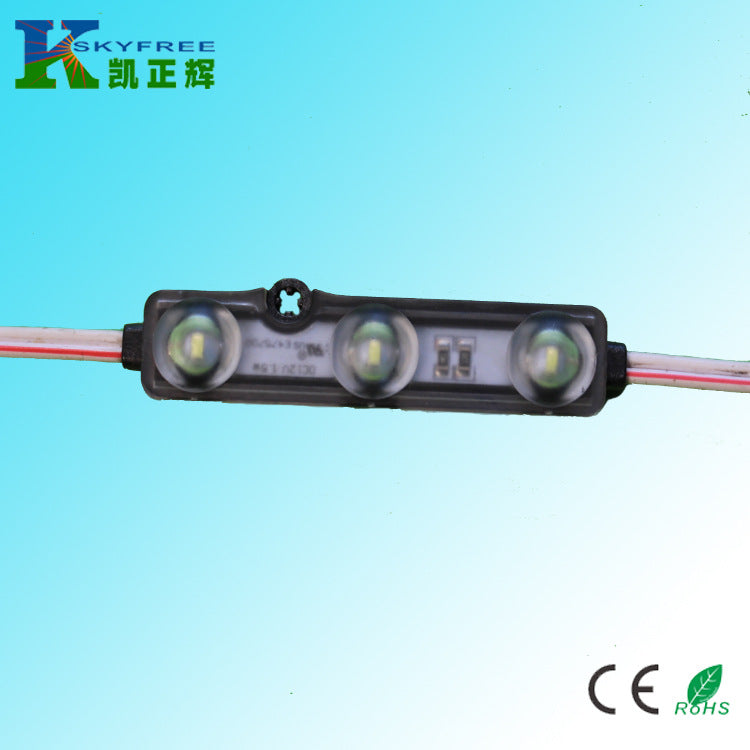 3 lamp 2835 ultrasonic injection module can be fully placed in water DC12V drive lighting 1.32 watts
