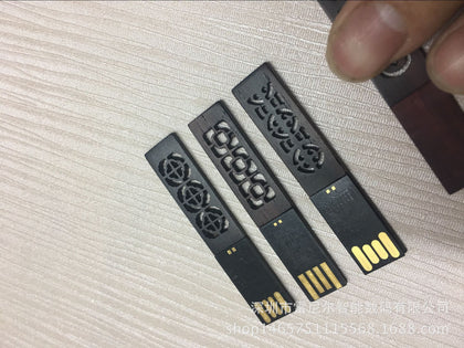 Window flower U disk Wooden bookmark U disk Creative gift U disk Factory direct sales USB flash drive customization Wholesale