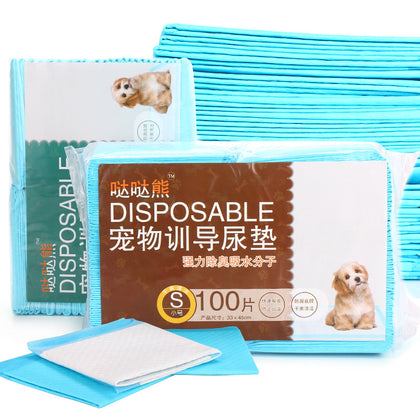Raccoon pet diaper pad diaper diaper diaper deodorant absorbent pet cleaning supplies wholesale