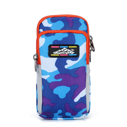 Camouflage Royal Blue Purple