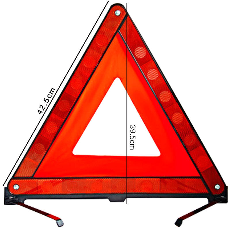 Car reflective triangle warning frame Traffic emergency tripod warning sign Annual inspection tripod Wholesale